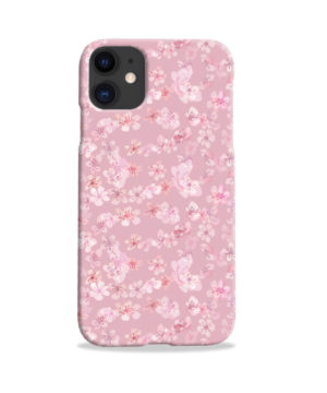 Sakura Watercolour Flower for Premium iPhone 11 Case