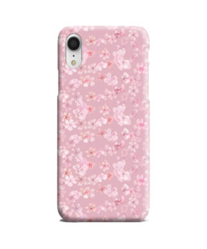 Sakura Watercolour Flower for Premium iPhone XR Case Cover