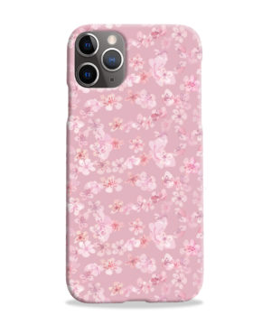 Sakura Watercolour Flower for Unique iPhone 11 Pro Max Case Cover