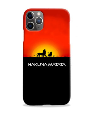 Simba Hakuna Matata for Beautiful iPhone 11 Pro Max Case