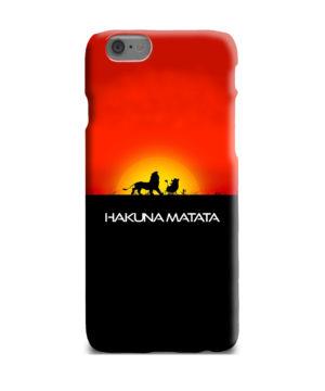 Simba Hakuna Matata for Beautiful iPhone 6 Plus Case