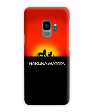 Simba Hakuna Matata for Cool Samsung Galaxy S9 Case