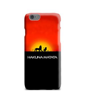 Simba Hakuna Matata for Custom iPhone 6 Case