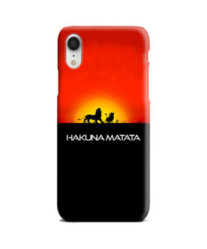 Simba Hakuna Matata for Custom iPhone XR Case