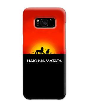 Simba Hakuna Matata for Customized Samsung Galaxy S8 Case