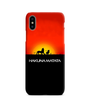 Simba Hakuna Matata for Newest iPhone X / XS Case