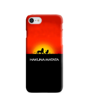 Simba Hakuna Matata for Personalised iPhone 7 Case