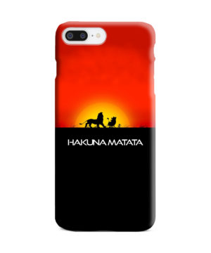 Simba Hakuna Matata for Personalised iPhone 7 Plus Case Cover