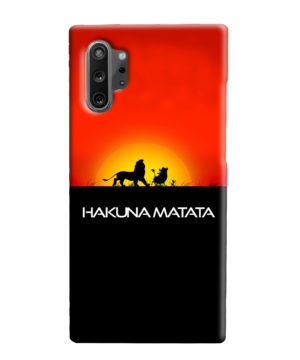 Simba Hakuna Matata for Personalised Samsung Galaxy Note 10 Plus Case Cover