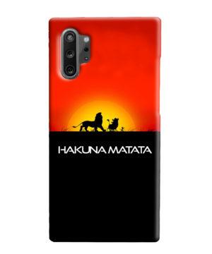 Simba Hakuna Matata for Personalised Samsung Galaxy Note 10 Plus Case Cover