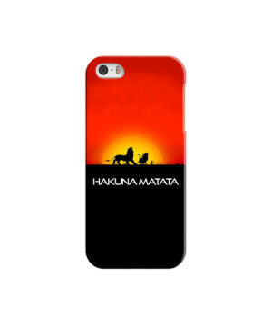 Simba Hakuna Matata for Premium iPhone 5 Case Cover