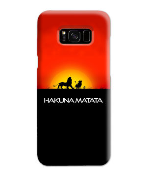 Simba Hakuna Matata for Simple Samsung Galaxy S8 Plus Case
