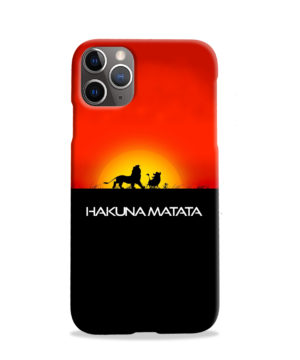 Simba Hakuna Matata for Stylish iPhone 11 Pro Case