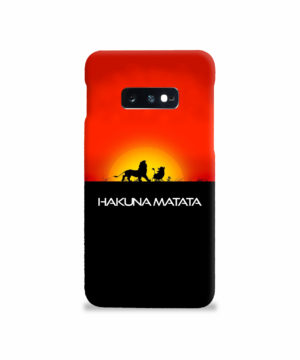Simba Hakuna Matata for Stylish Samsung Galaxy S10e Case