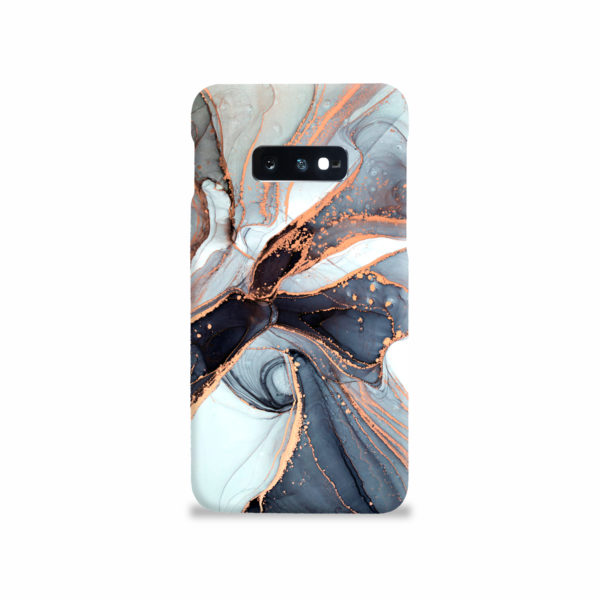 Smoke Rose Gold Marble for Cute Samsung Galaxy S10e Case