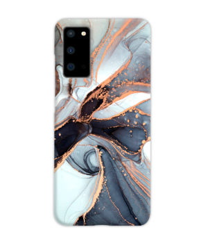 Smoke Rose Gold Marble for Newest Samsung Galaxy S20 Case Cover