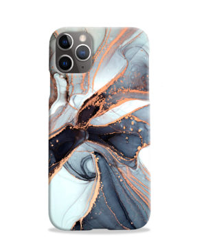 Smoke Rose Gold Marble for Unique iPhone 11 Pro Case Cover
