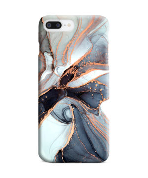 Smoke Rose Gold Marble for Unique iPhone 8 Plus Case Cover