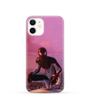 Spiderman Miles Molares for Custom iPhone 12 Case