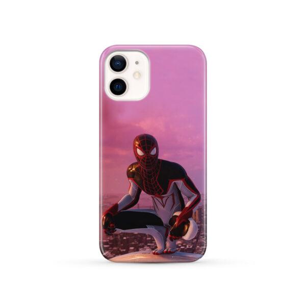 Spiderman Miles Molares for Custom iPhone 12 Case