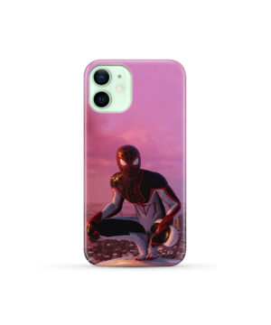 Spiderman Miles Molares for Custom iPhone 12 Mini Case Cover