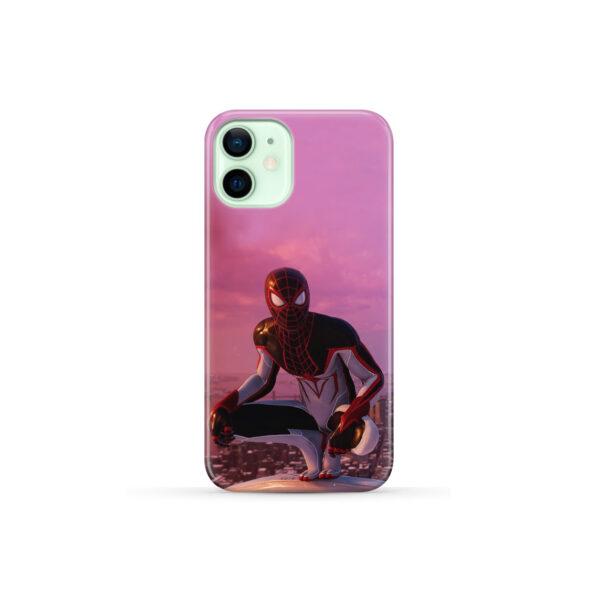Spiderman Miles Molares for Custom iPhone 12 Mini Case Cover