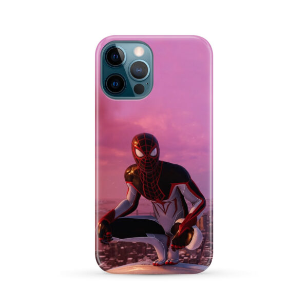 Spiderman Miles Molares for Customized iPhone 12 Pro Max Case Cover