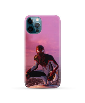 Spiderman Miles Molares for Unique iPhone 12 Pro Case