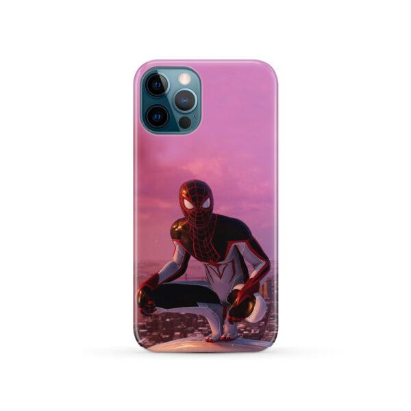 Spiderman Miles Molares for Unique iPhone 12 Pro Case