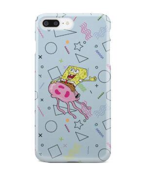 Spongebob Jellyfish for Beautiful iPhone 7 Plus Case Cover