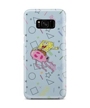 Spongebob Jellyfish for Best Samsung Galaxy S8 Plus Case