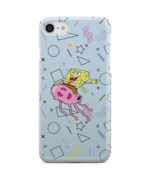 Spongebob Jellyfish for Cool iPhone 8 Case Cover