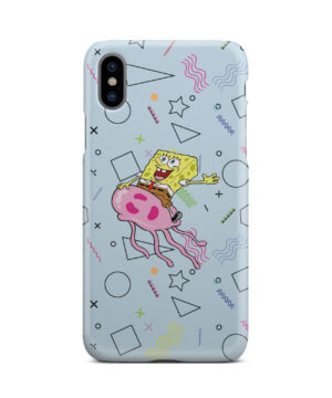 Spongebob Jellyfish for Customized iPhone X / XS Case Cover
