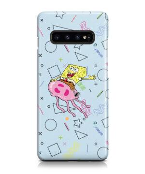 Spongebob Jellyfish for Cute Samsung Galaxy S10 Plus Case