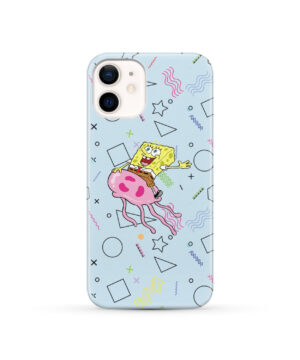 Spongebob Jellyfish for Nice iPhone 12 Case Cover