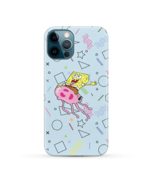 Spongebob Jellyfish for Personalised iPhone 12 Pro Case