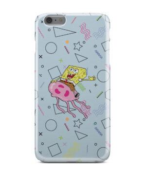 Spongebob Jellyfish for Personalised iPhone 6 Plus Case