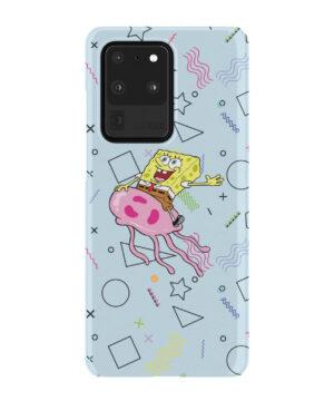Spongebob Jellyfish for Premium Samsung Galaxy S20 Ultra Case