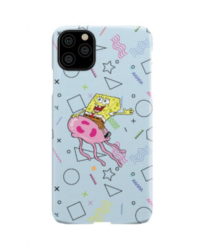 Spongebob Jellyfish for Simple iPhone 11 Pro Max Case