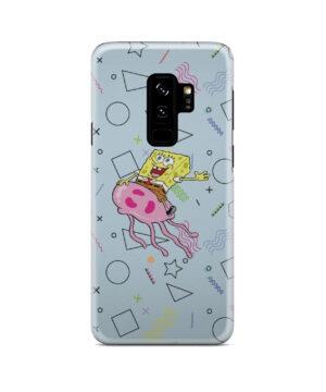 Spongebob Jellyfish for Simple Samsung Galaxy S9 Plus Case
