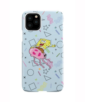 Spongebob Jellyfish for Trendy iPhone 11 Pro Case Cover