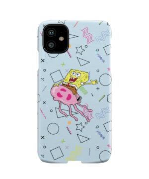 Spongebob Jellyfish for Unique iPhone 11 Case
