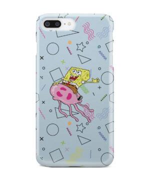 Spongebob Jellyfish for Unique iPhone 8 Plus Case Cover