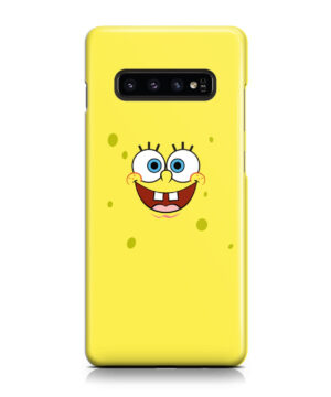 Spongebob Squarepants Face for Beautiful Samsung Galaxy S10 Case