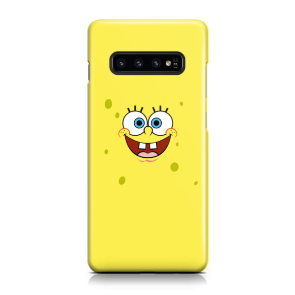 Spongebob Squarepants Face for Beautiful Samsung Galaxy S10 Case