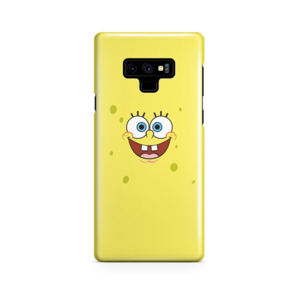 Spongebob Squarepants Face for Custom Samsung Galaxy Note 9 Case Cover