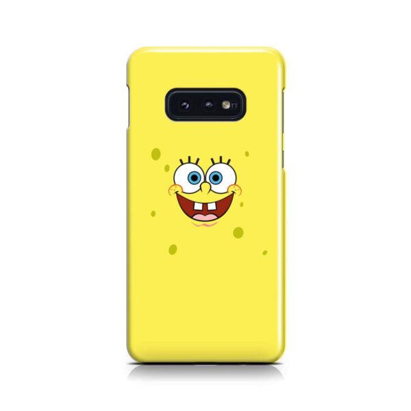 Spongebob Squarepants Face for Customized Samsung Galaxy S10e Case