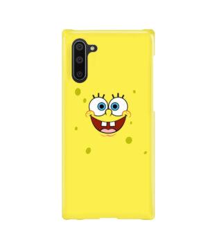 Spongebob Squarepants Face for Cute Samsung Galaxy Note 10 Case Cover
