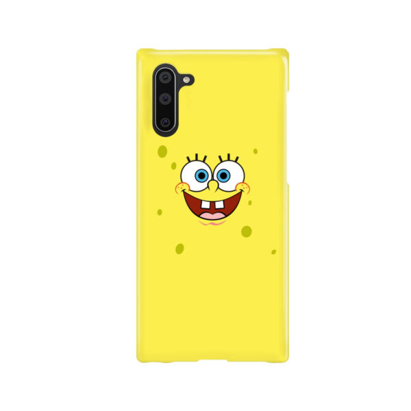 Spongebob Squarepants Face for Cute Samsung Galaxy Note 10 Case Cover