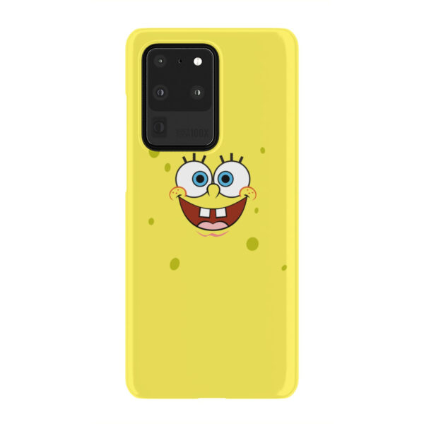 Spongebob Squarepants Face for Newest Samsung Galaxy S20 Ultra Case Cover